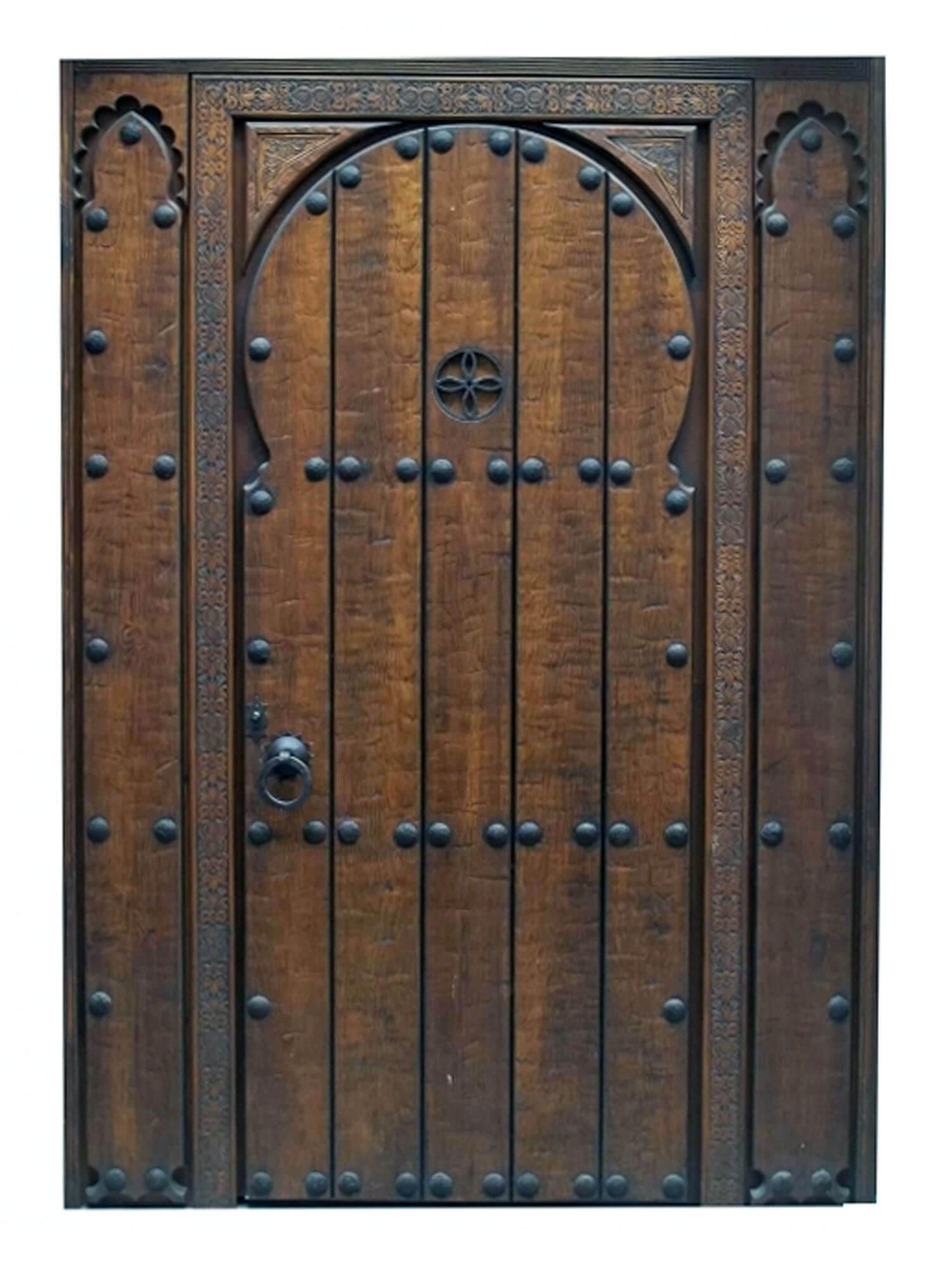Cayman Mahogany Door