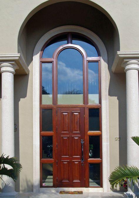 Charleston Mahogany Exterior Door