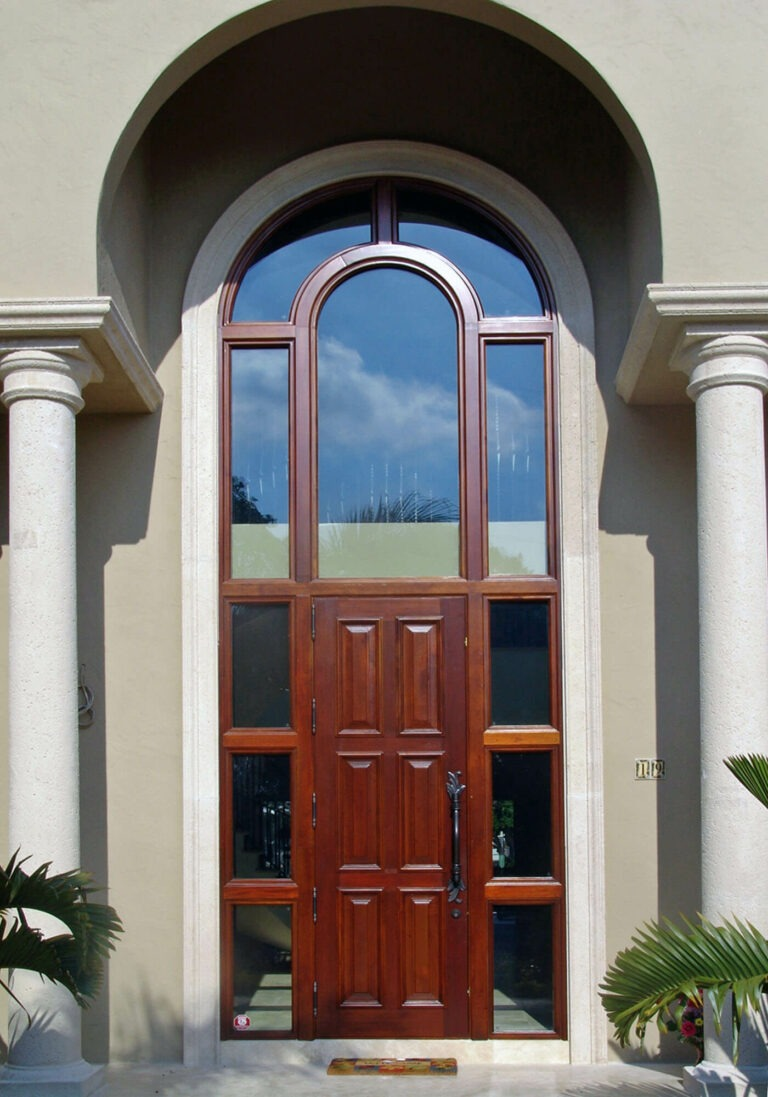 Charleston Mahogany Exterior Door