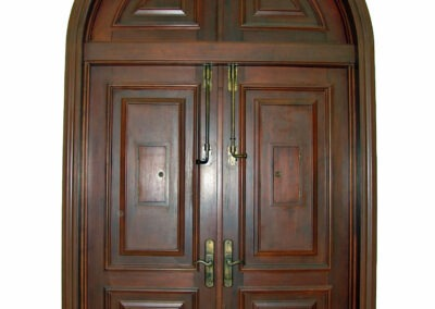 COCO MAHOGANY DOORS.