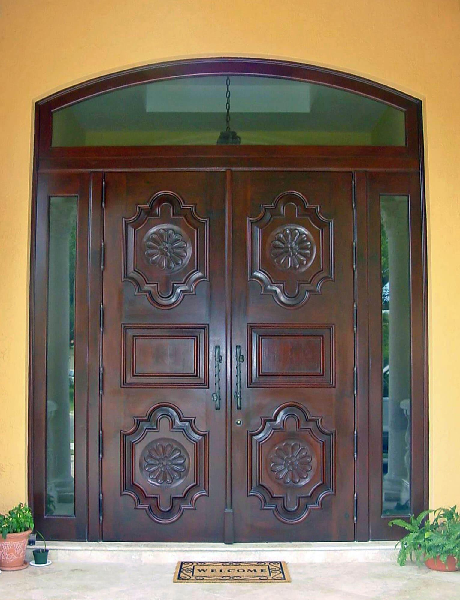 Coco Plum Mahogany Entrance Doors