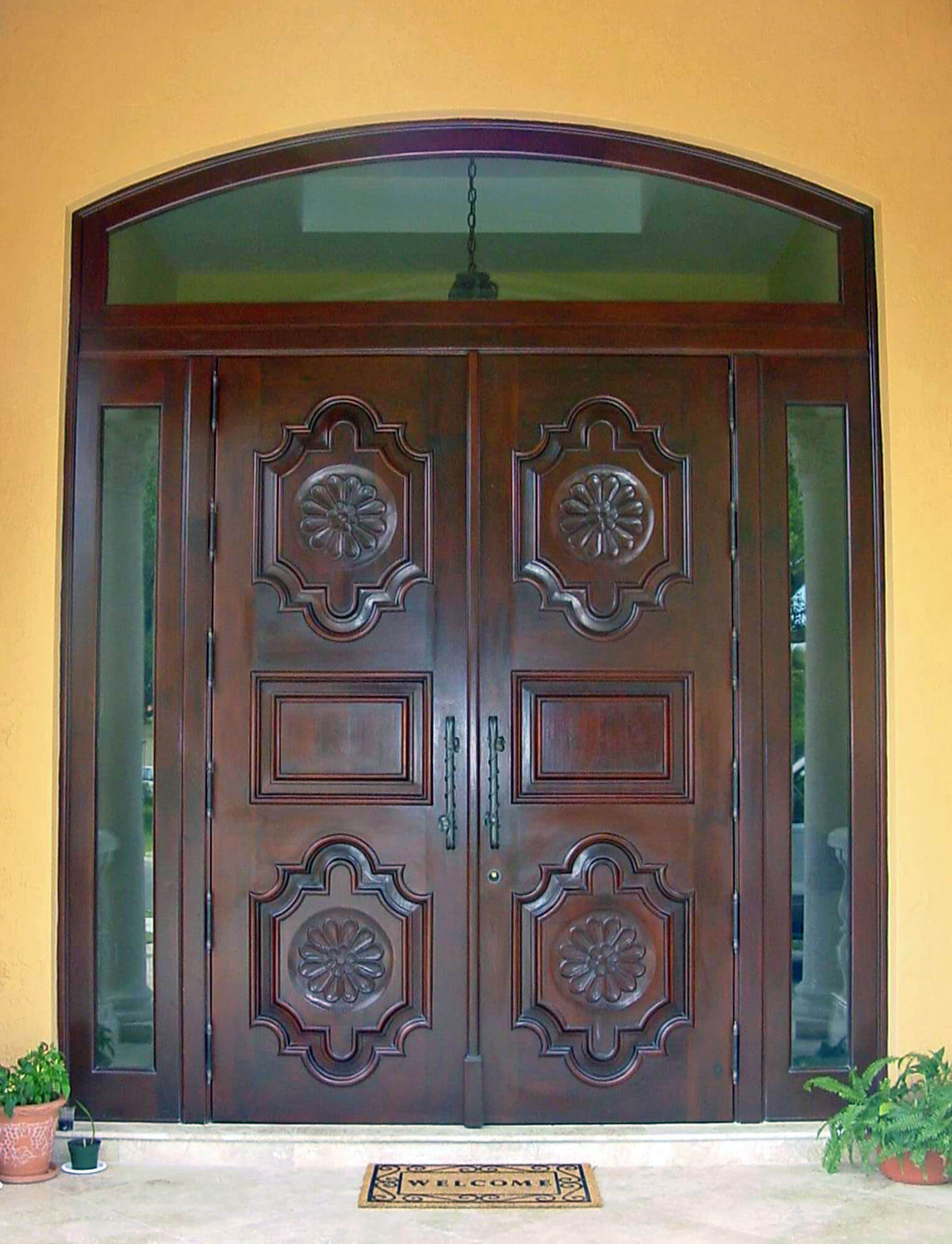 Coco Plum Mahogany Entrance Doors