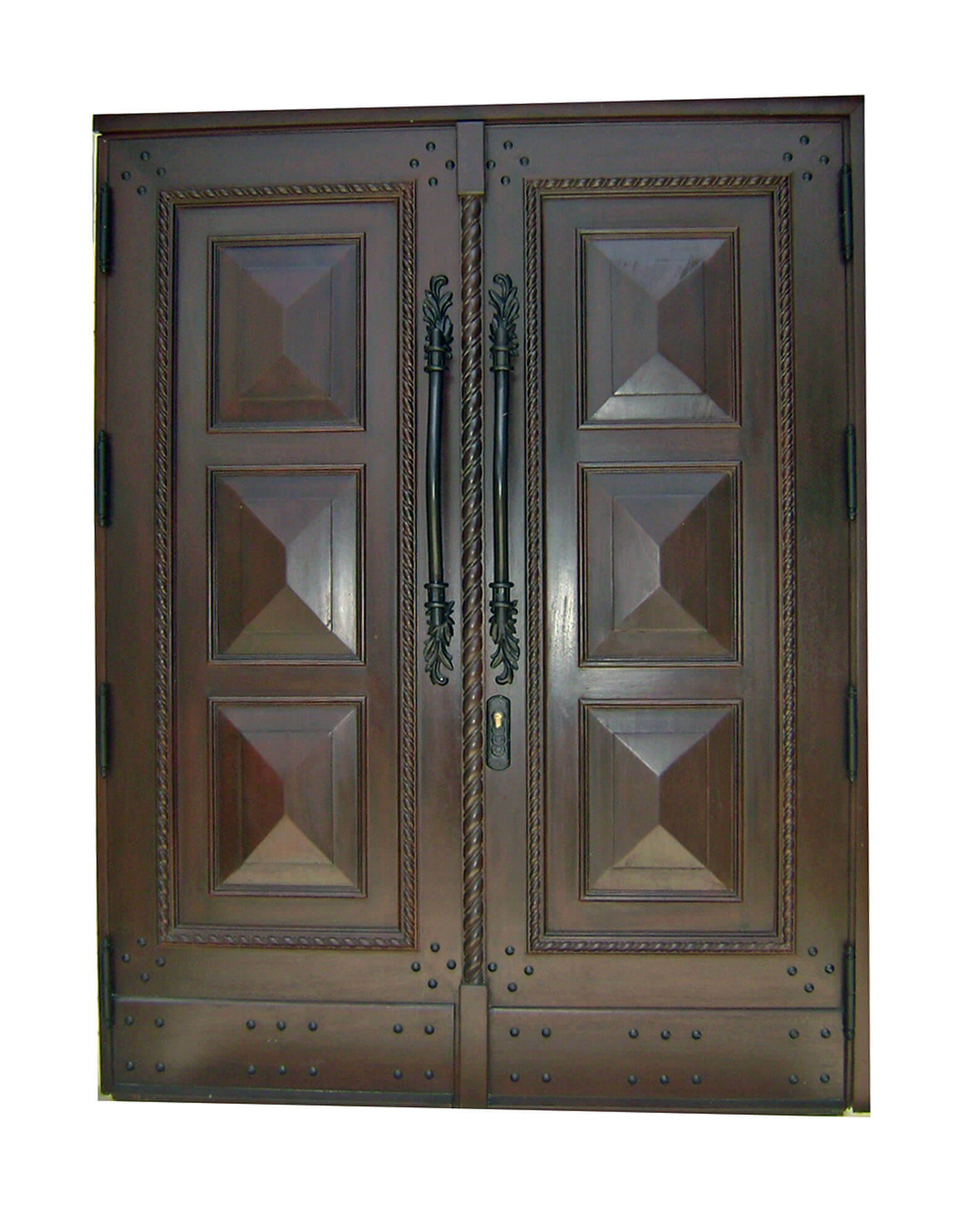 Coconut Greek Mahogany Front Door
