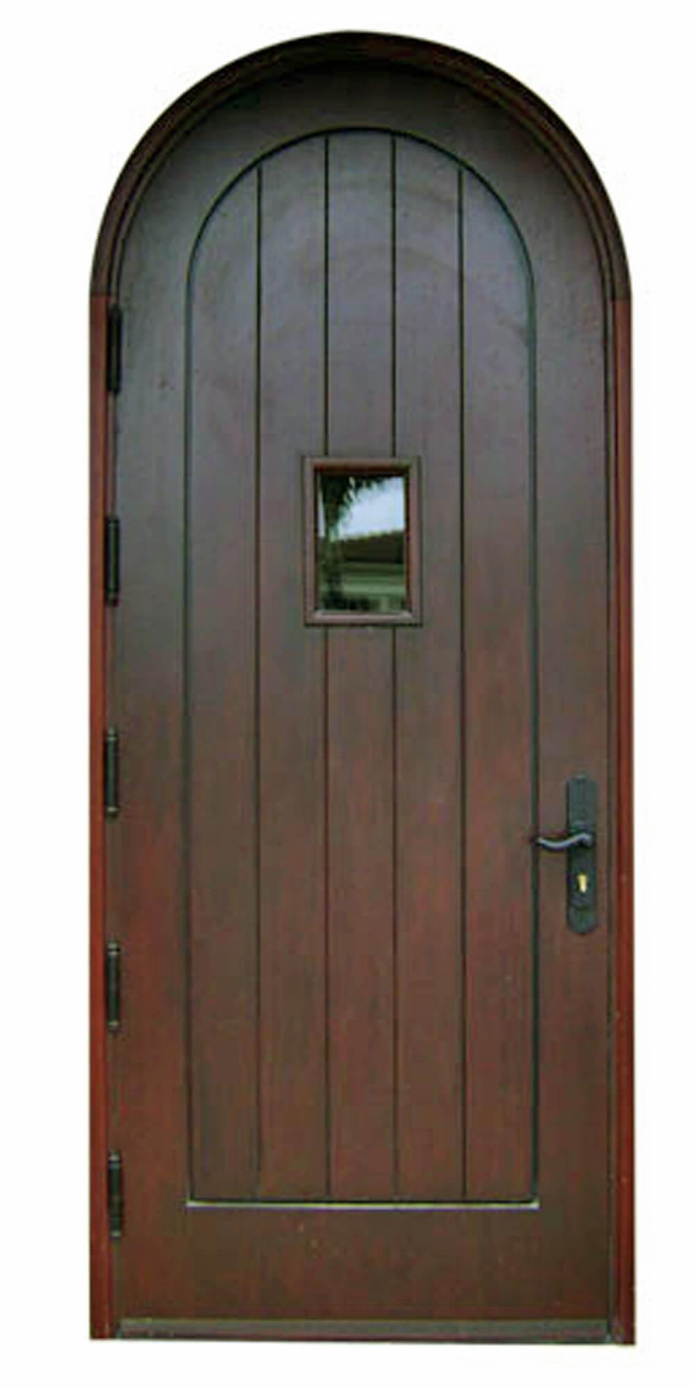 Collins Ave Mahogany Exterior Door