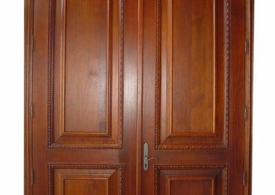 CONCH KEY MAHOGANY EXTERIOR DOORS.