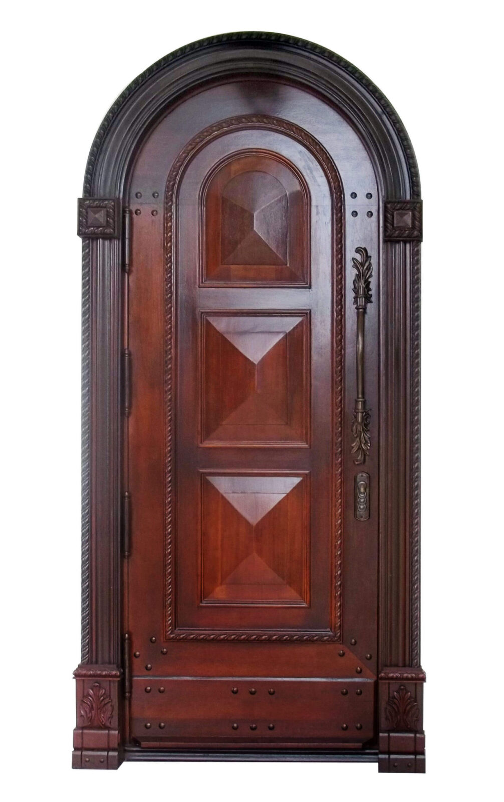 Coral Mahogany Entrance Door