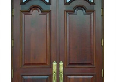 CORAL GABLES IMPACT MAHOGANY DOORS.
