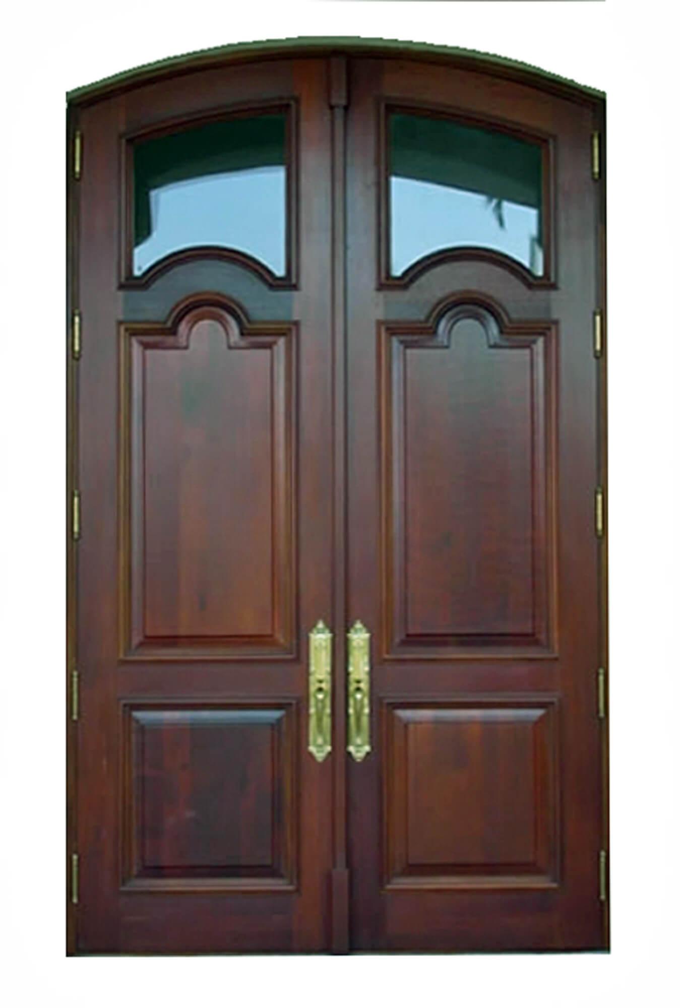 Coral Gables Impact Mahogany Doors