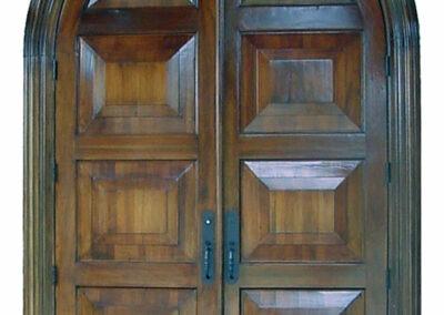 COUNTRY CLUB MAHOGANY EXTERIOR DOOR.