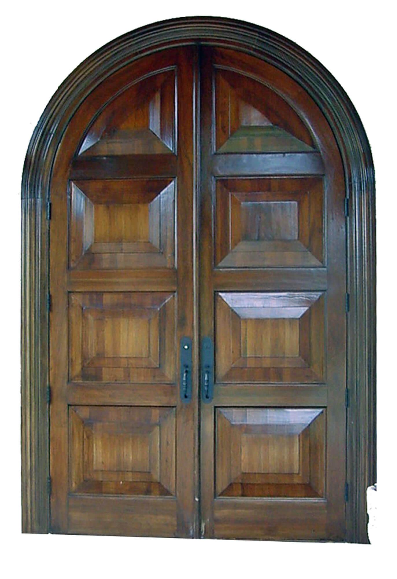 Country Club Mahogany Exterior Door