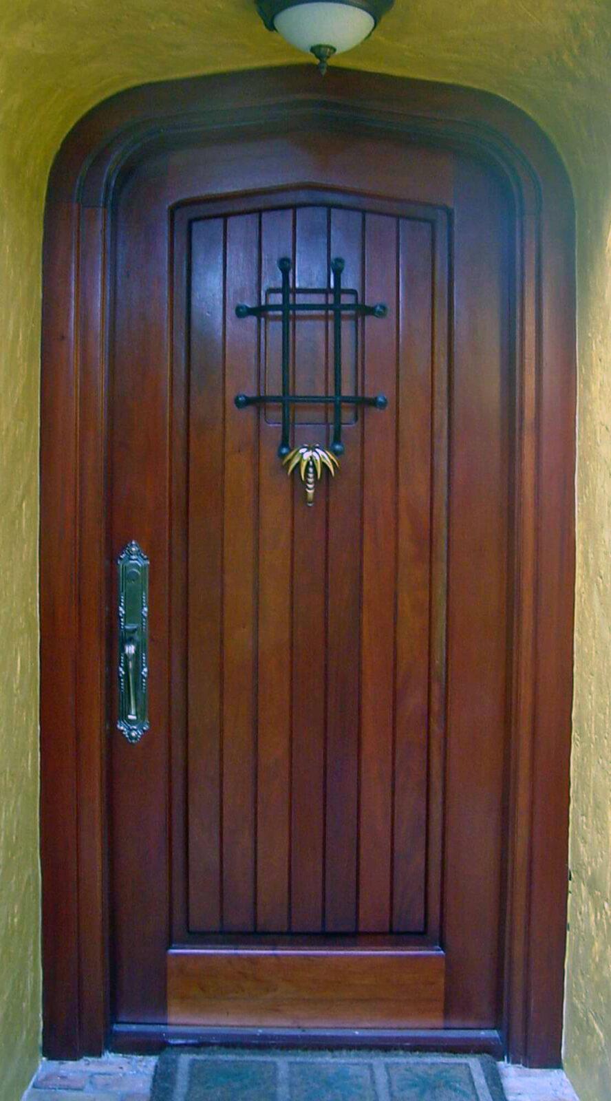 Deering Bay Mahogany Impact Door
