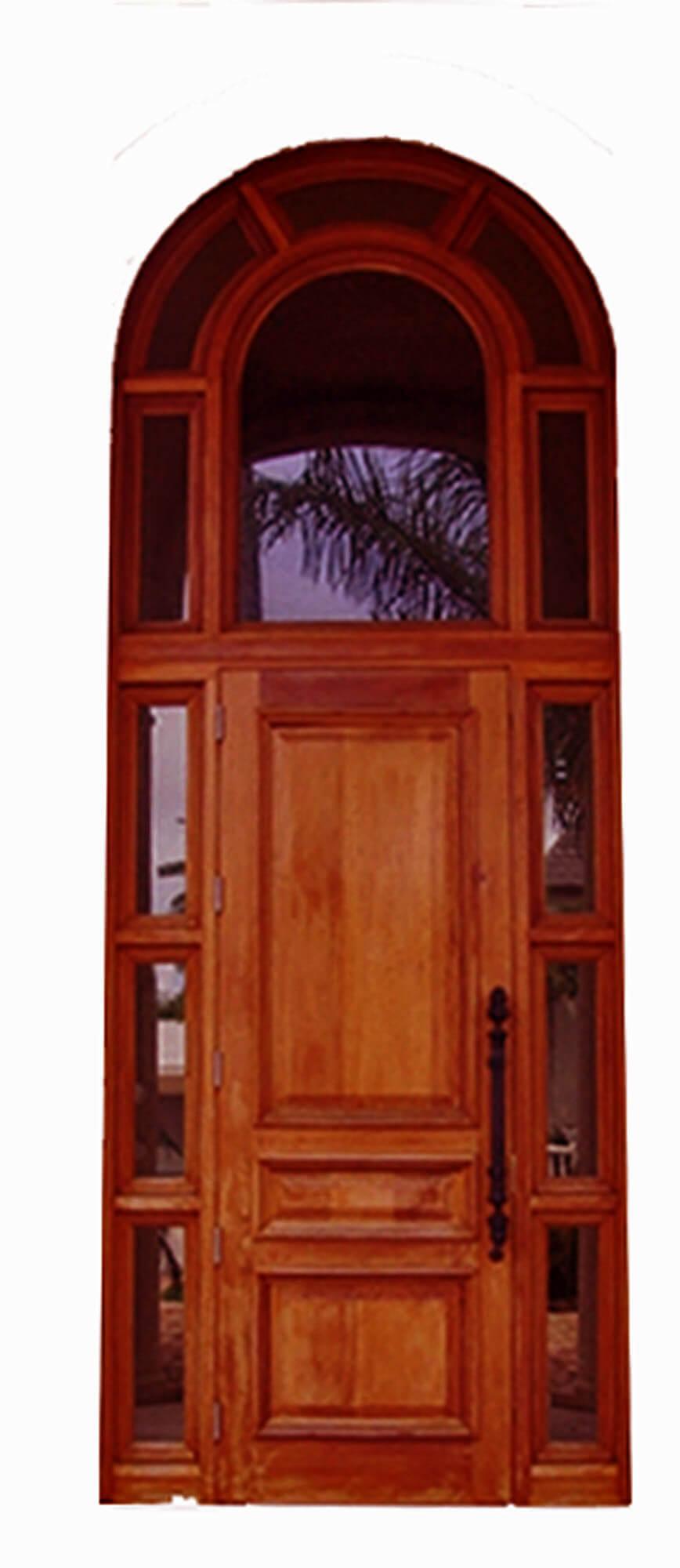 Delmar Mahogany Entry Door System