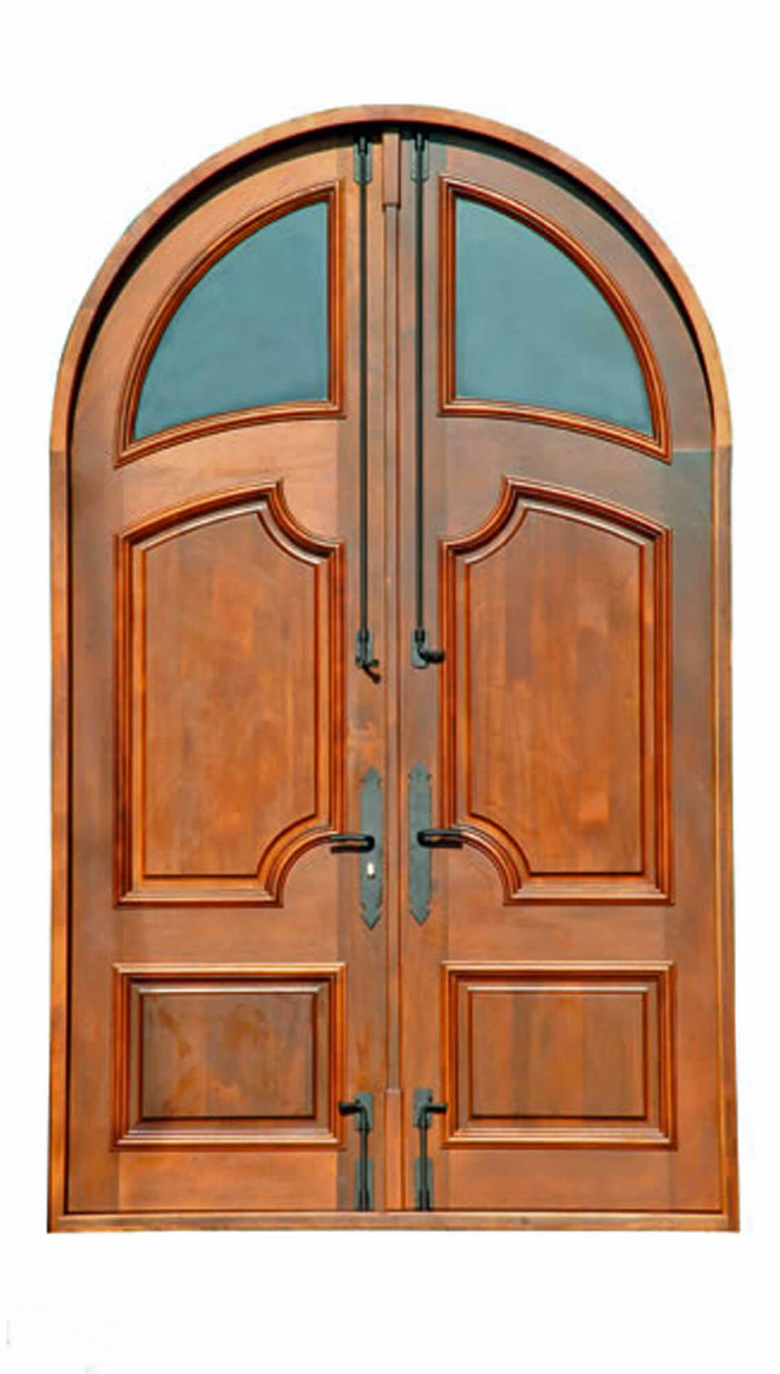 DESTIN MAHOGANY EXTERIOR CARVED DOOR. INTERIOR