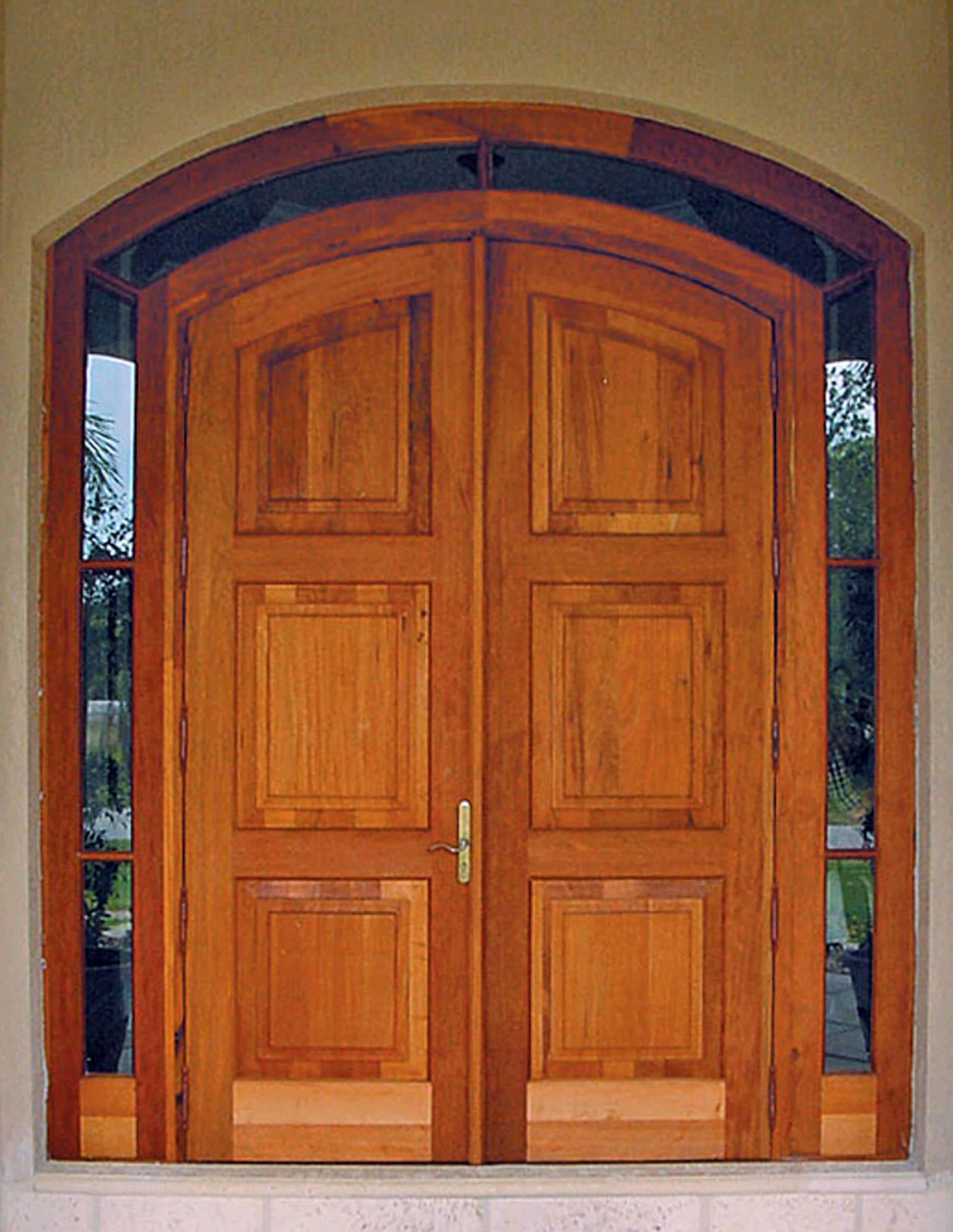 Duck Key Mahogany Entrance Doors