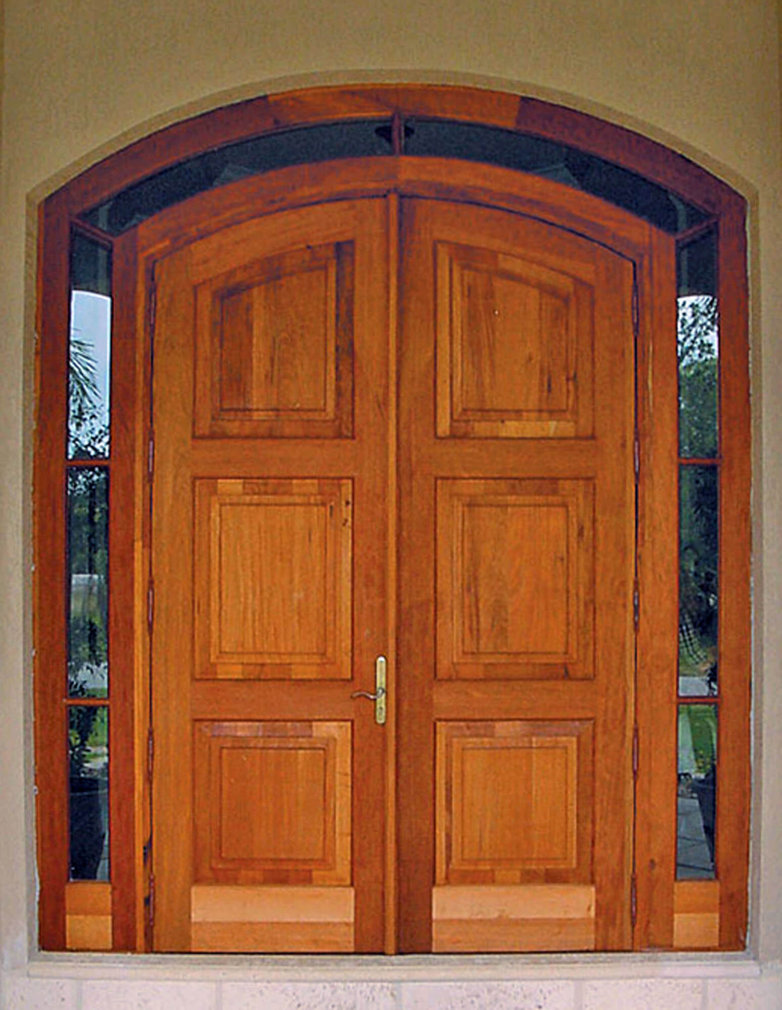 Duck Key Mahogany Entrance Doors