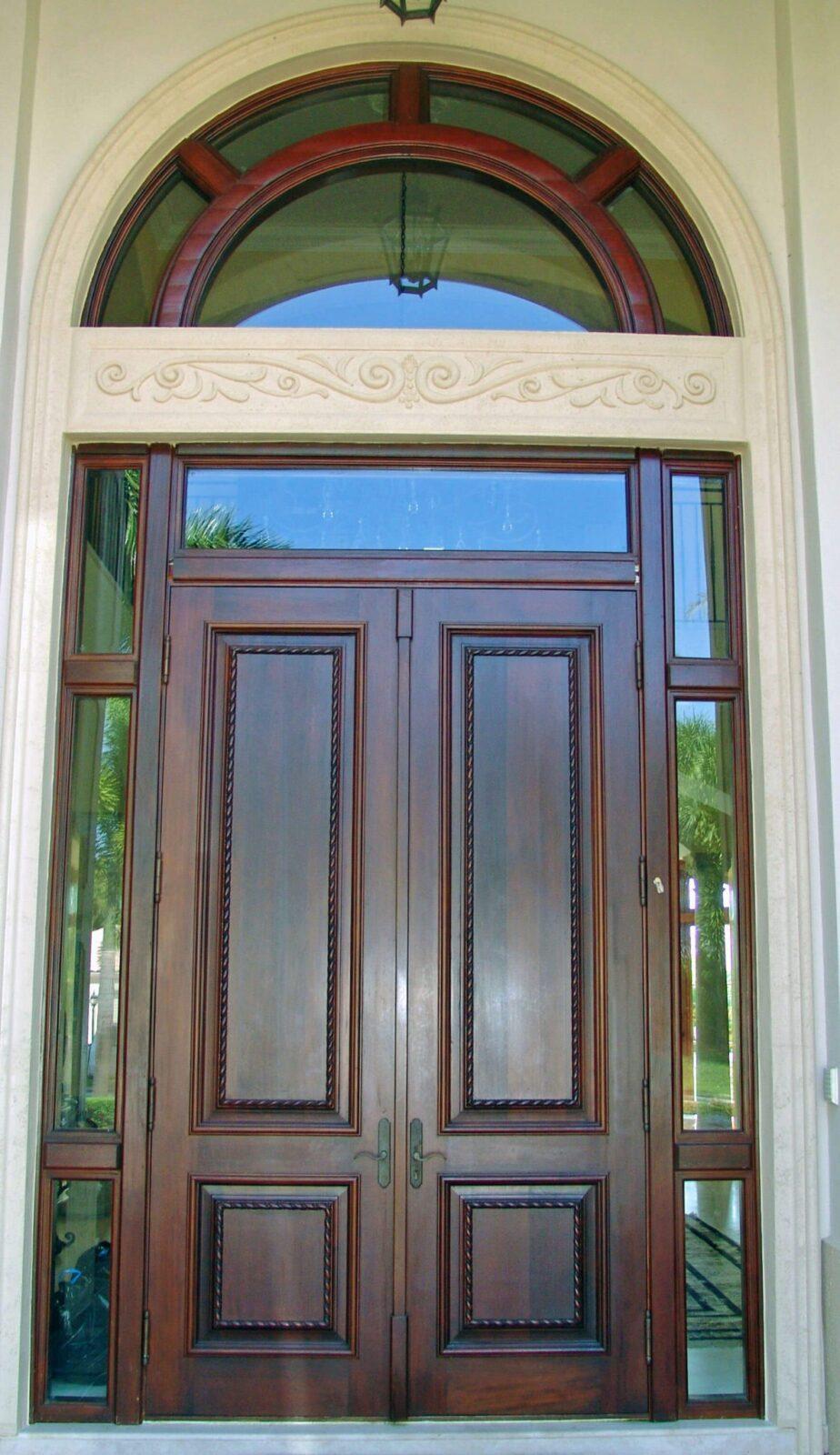 York Mahogany Entrance Doors