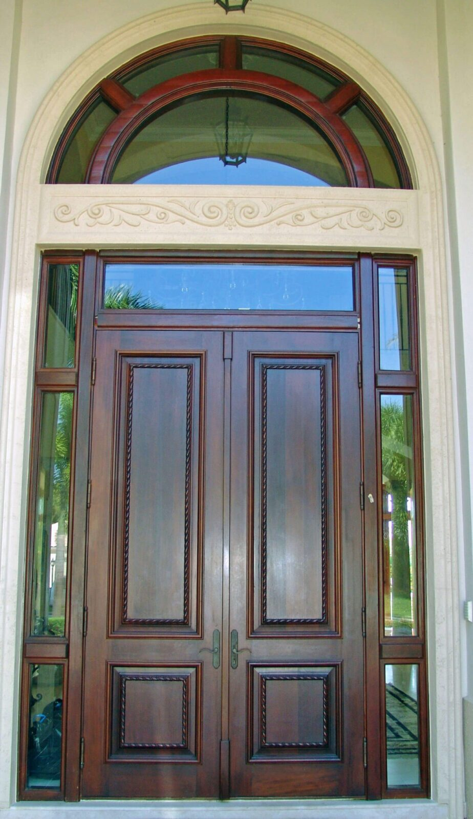 York Mahogany Entrance Doors