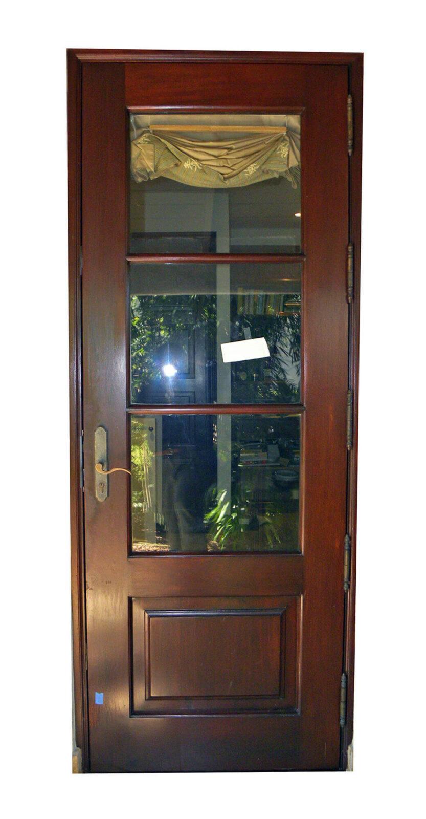 PINE TREE PATIO DOOR.