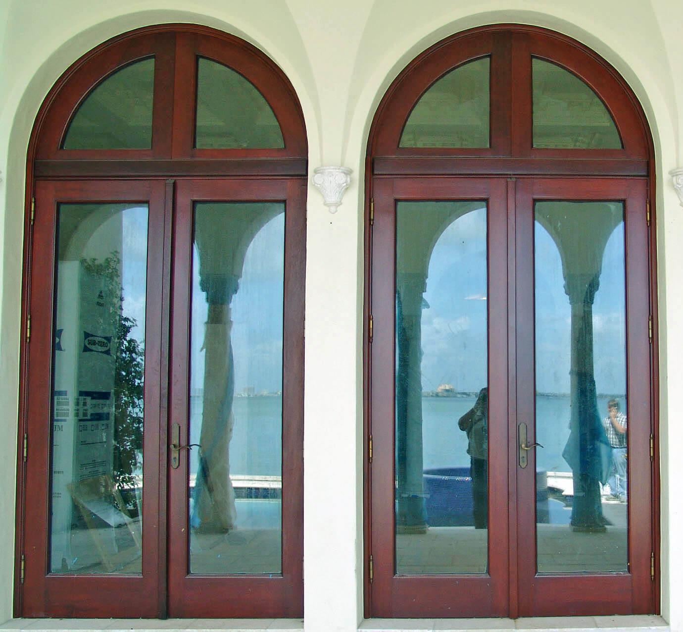 BISCAYNE POINT MAHOGANY BAY DOORS.