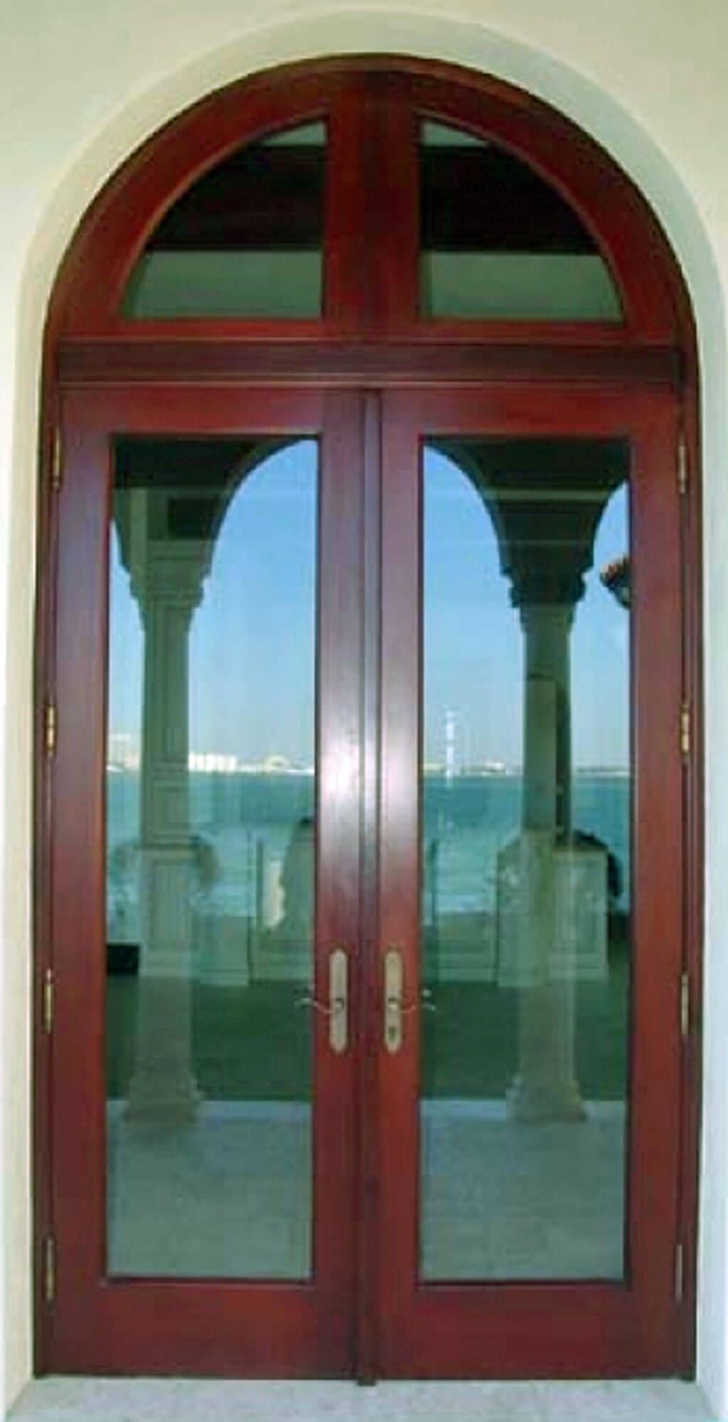 BISCAYNE POINT MAHOGANY BAY FRENCH DOORS.