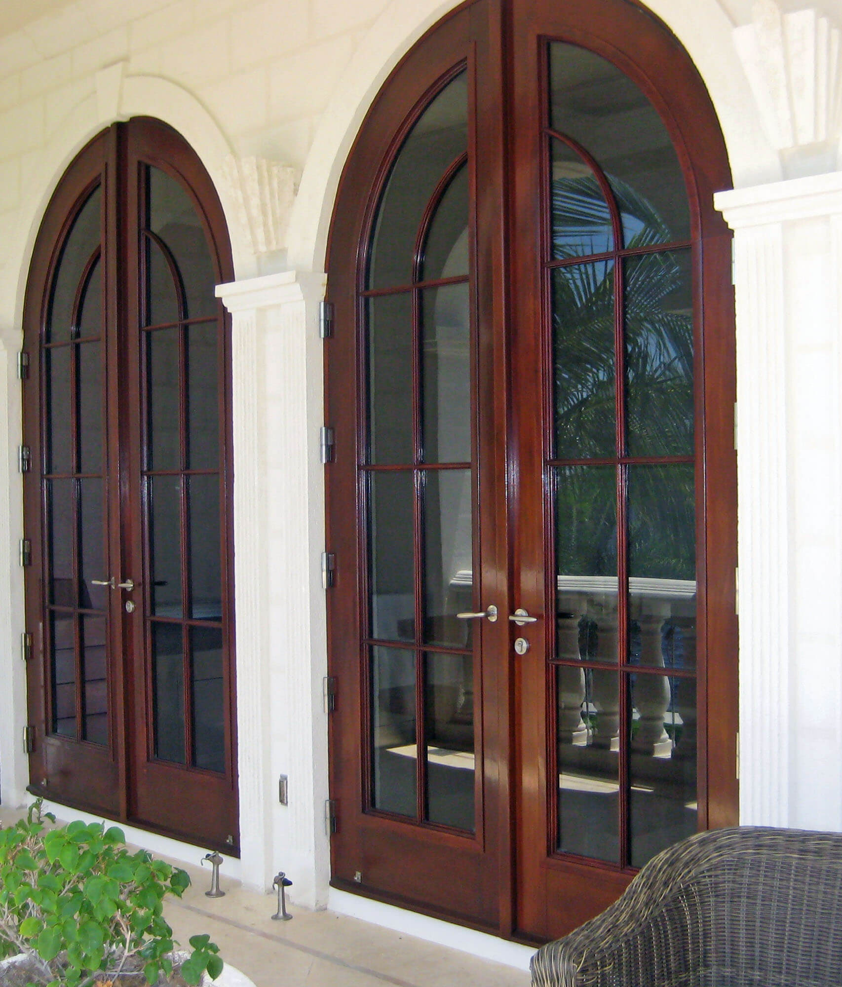 CORAL GABLES FRENCH PATIO DOORS.