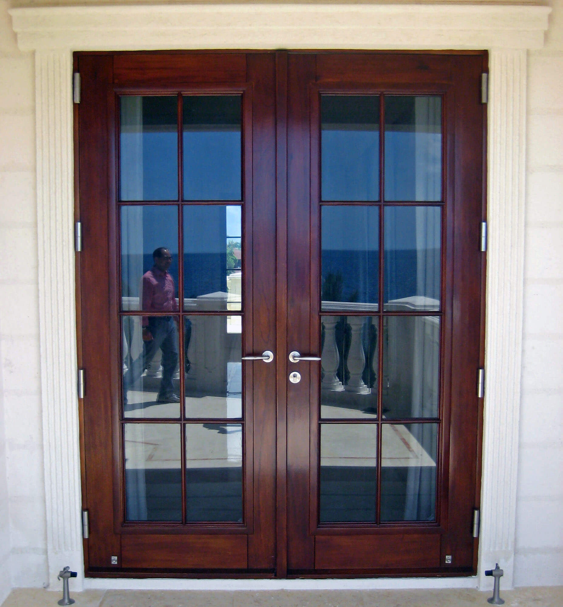 CORAL GABLES MAHOGANY FRENCH DOOR