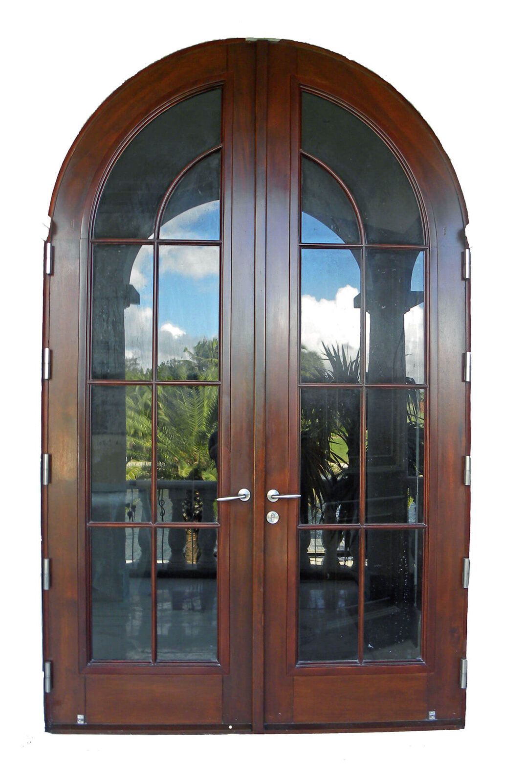 CORAL GABLES MAHOGANY PATIO DOORS.