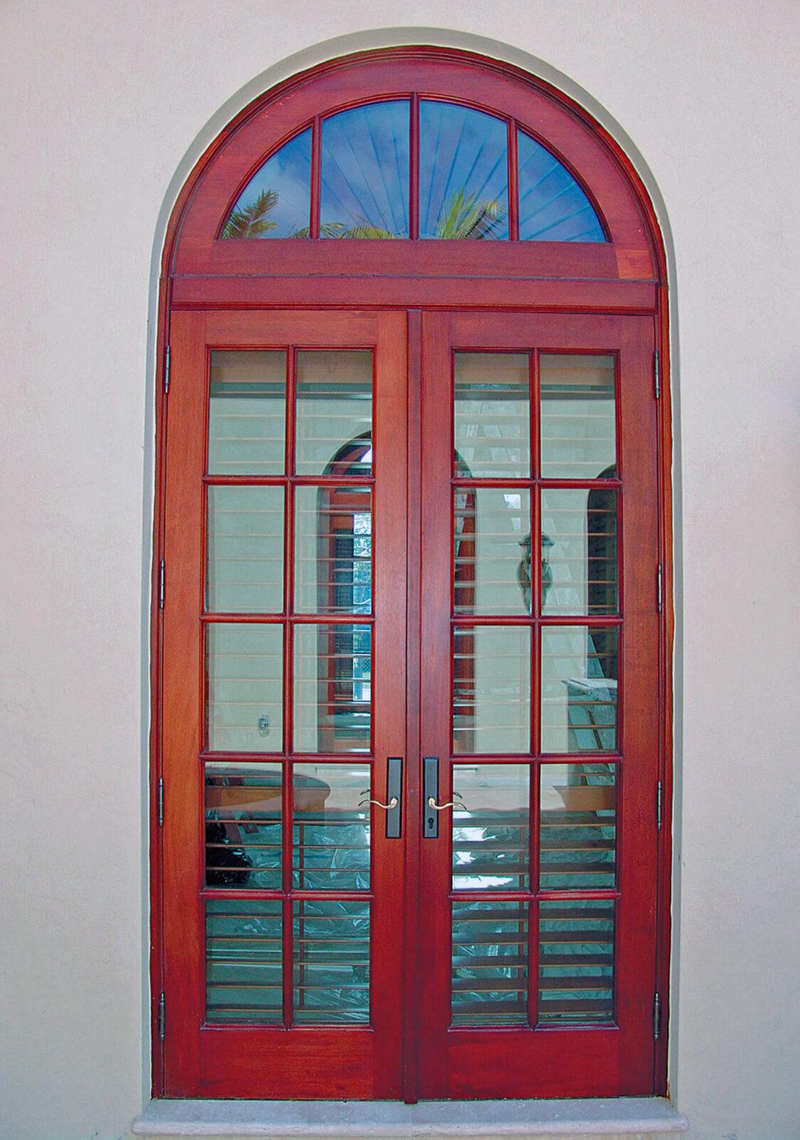 GABLES ESTATES PATIO FRENCH DOORS.