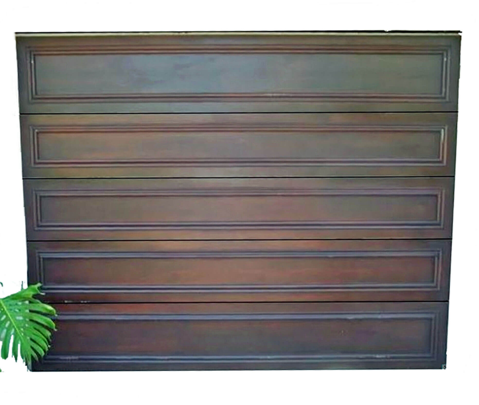 Delray Mahogany Car Gate Door