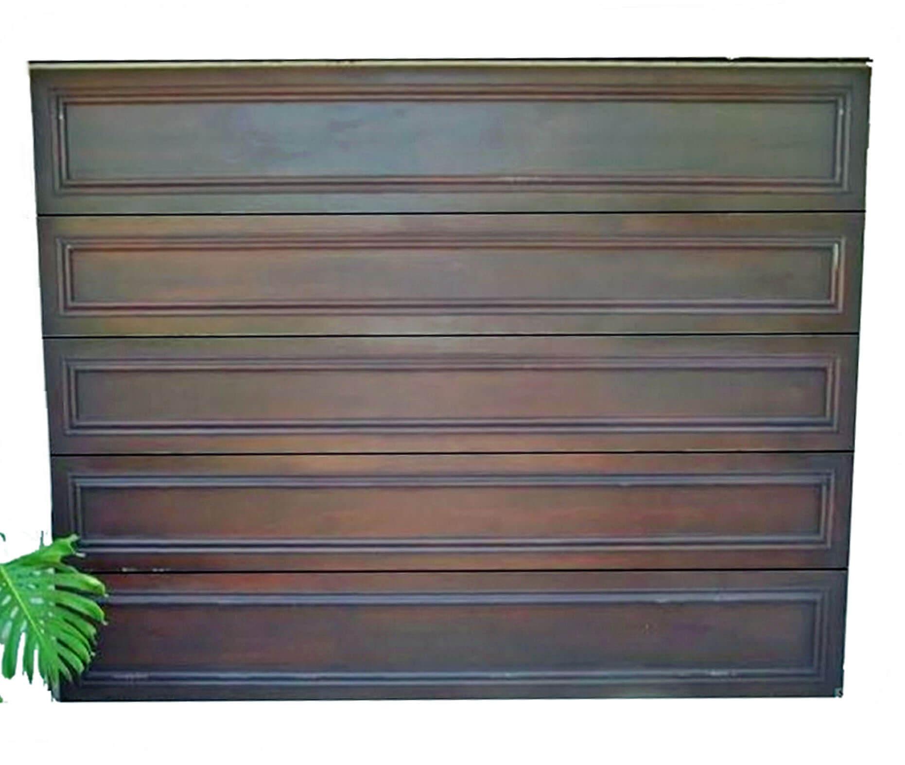 Delray Mahogany Car Gate Door