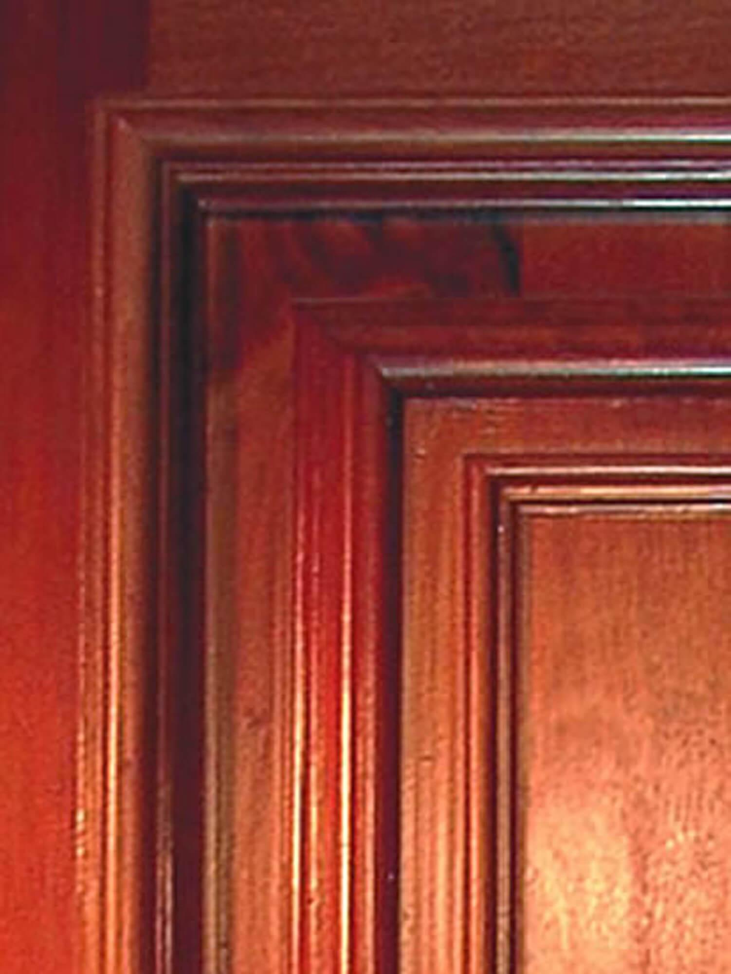 KING MAHOGANY DOOR DETAIL