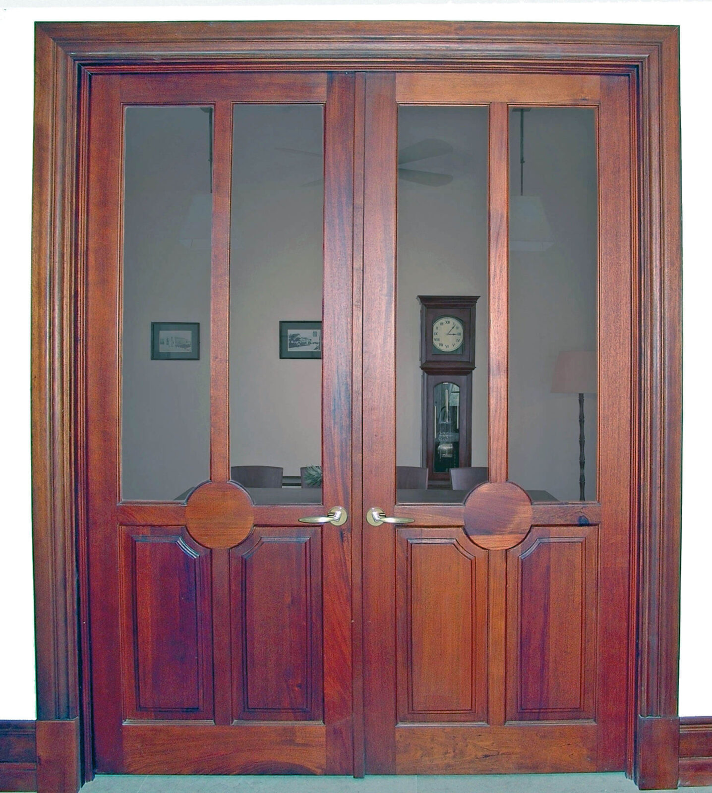MARBELLA MAHOGANY DOOR.