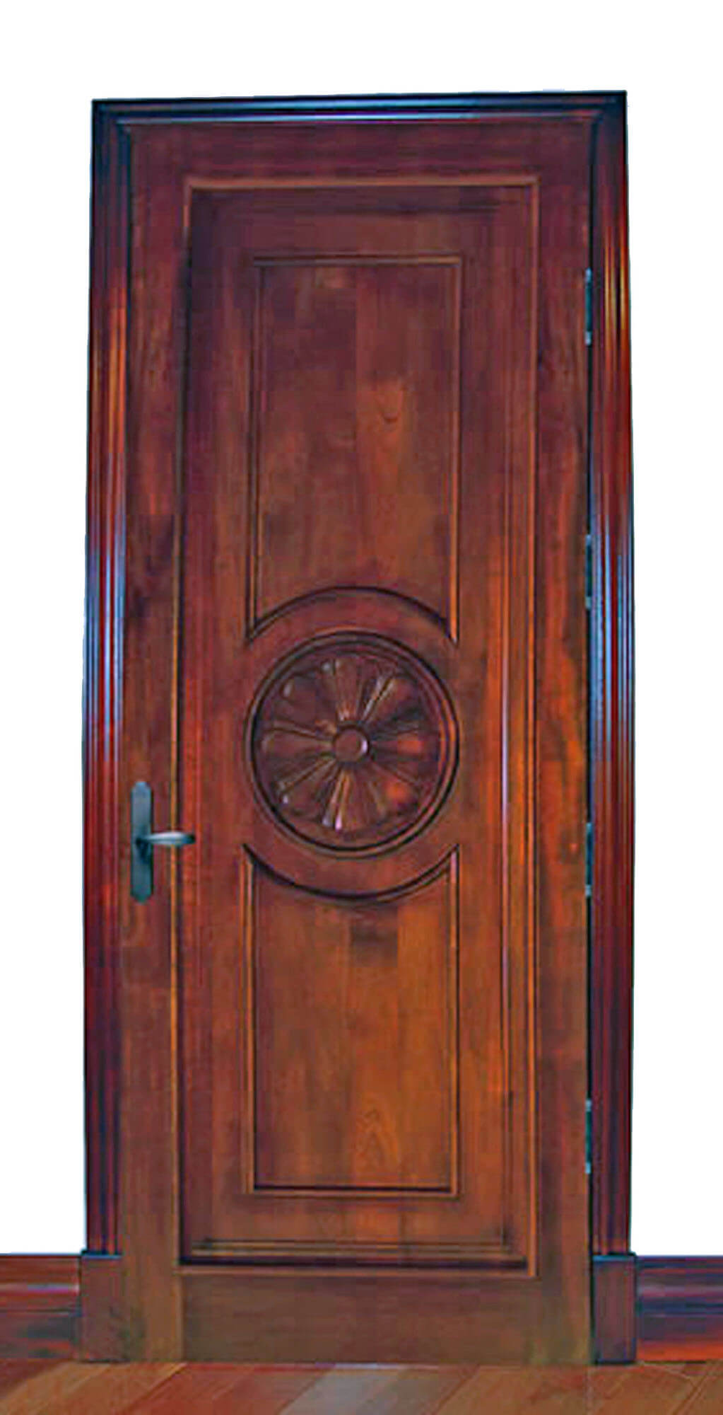 MEDALLION DOOR.