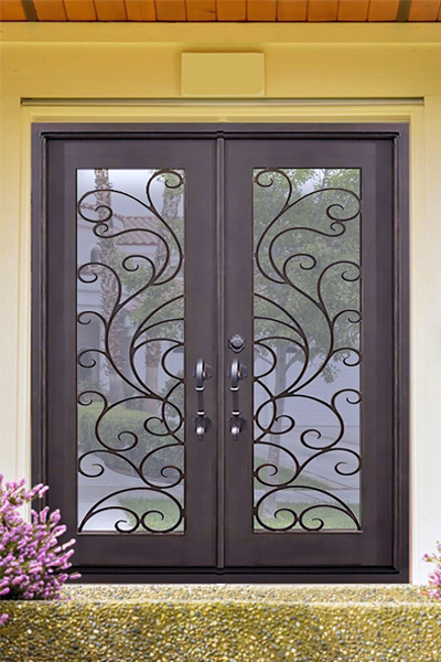 Isla Morada Iron Door