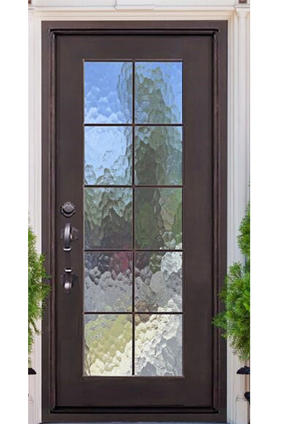 Key Largo Single Iron Door
