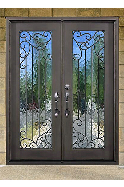 Lake Land Double Iron Door