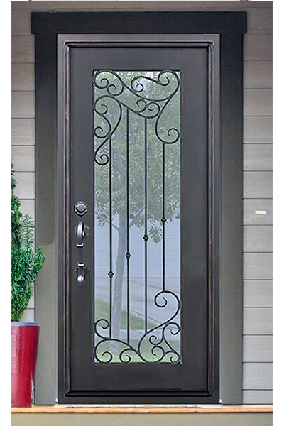 Lake Land Single Iron Door