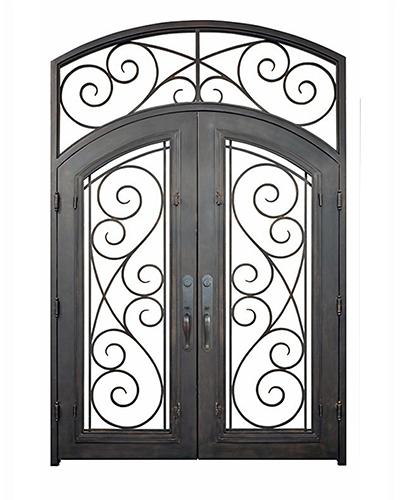 Milano Iron Door