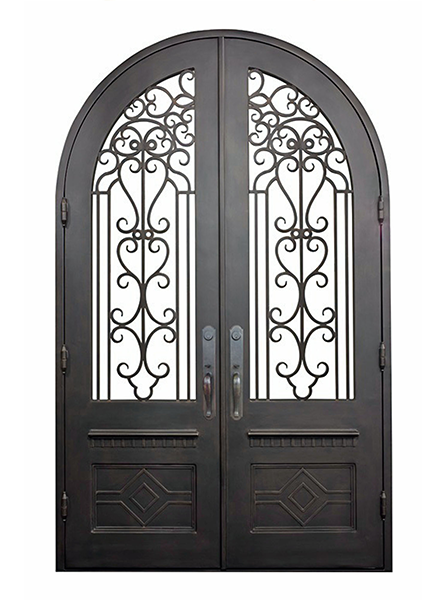 Pienza Iron Doors