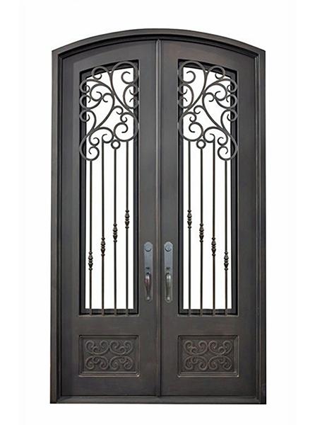 Pisa Iron Double Doors