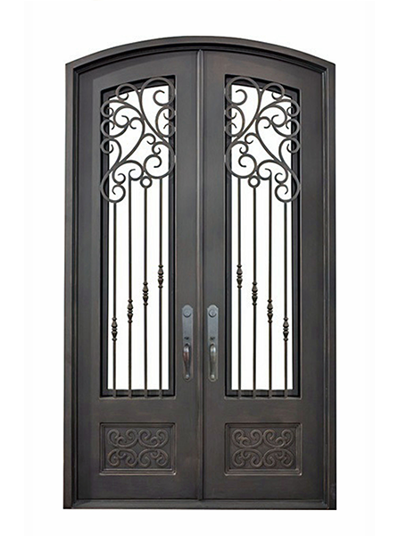 Pisa Iron Double Doors