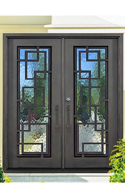 St. Andrews Iron Door