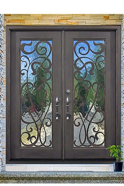 St. Lucie Iron Door