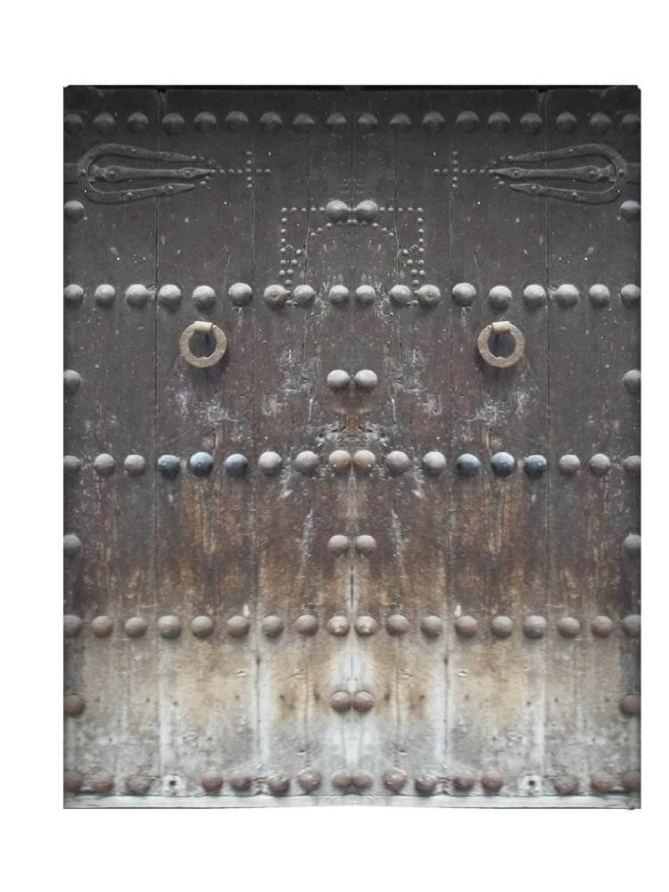 TOLEDO GATE IN SPAIN.