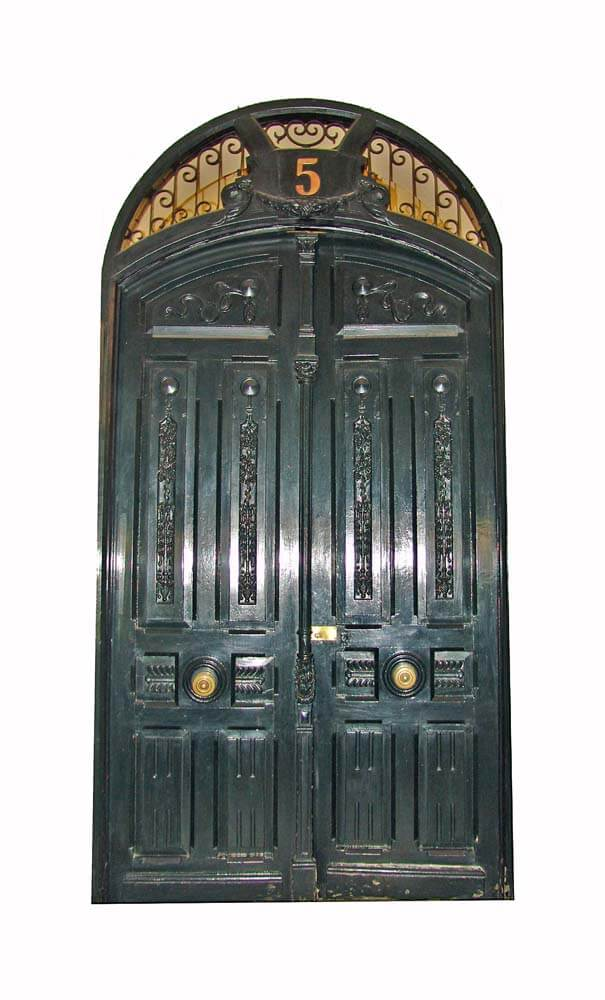 MADRID DOUBLE ENTRY ARCHED DOOR.