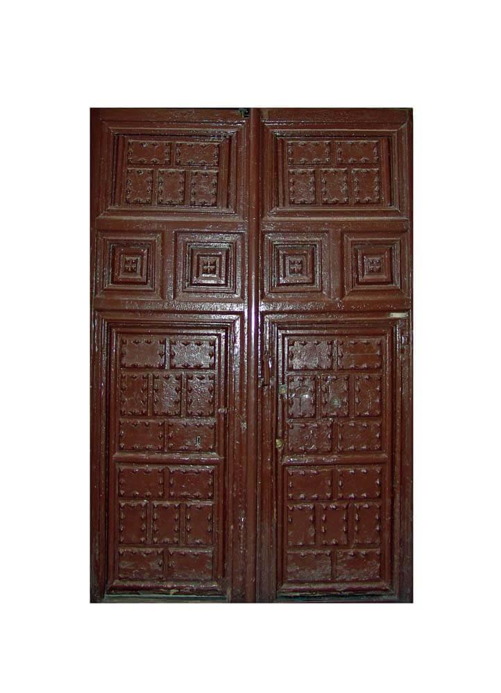 MADRIS CARVED DOOR.