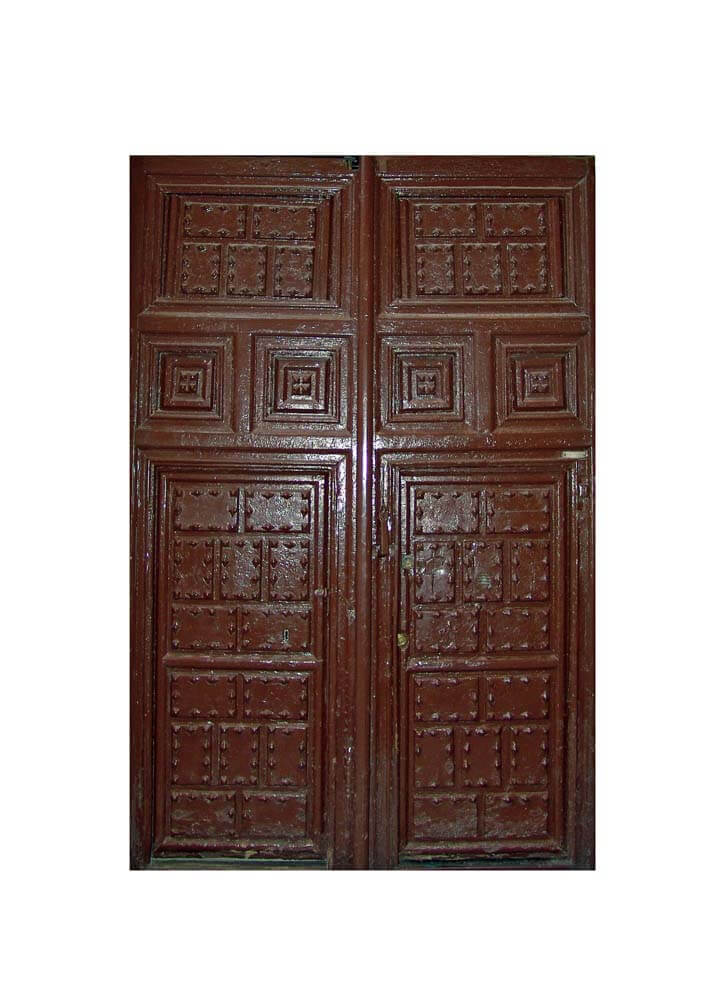 MADRIS CARVED DOOR.