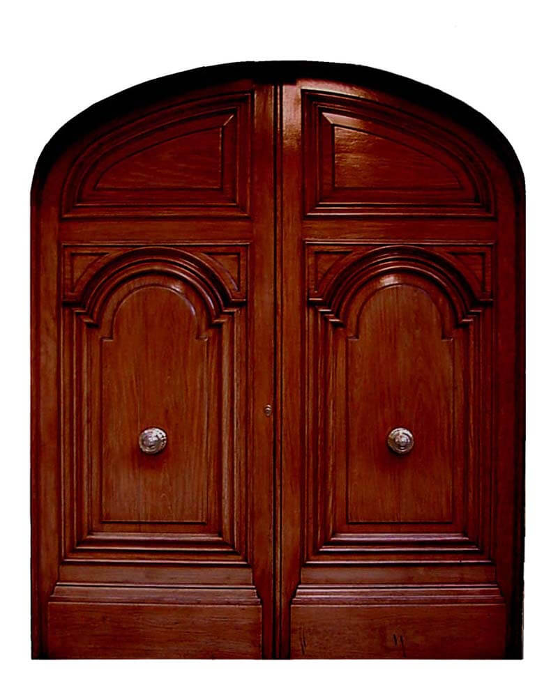 SIENA DOUBLE ARCHED DOOR.