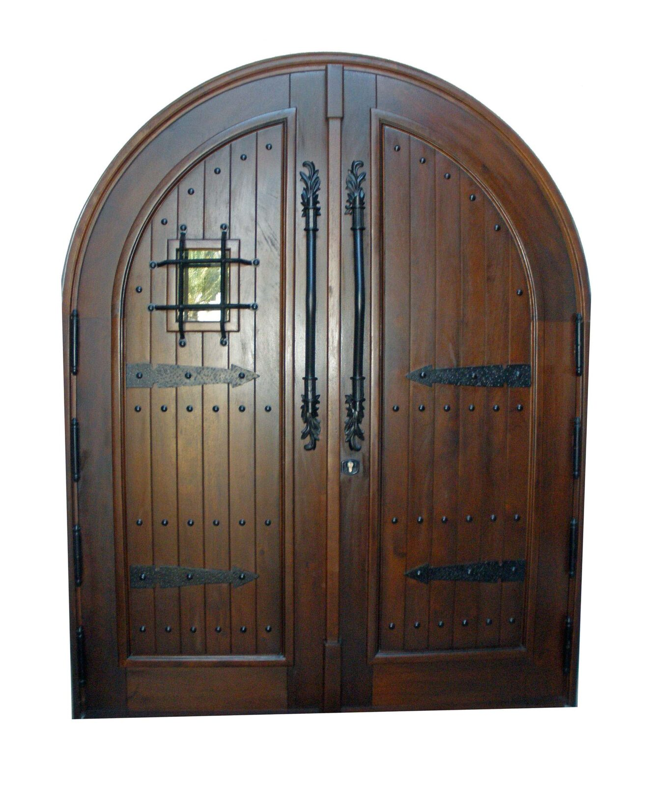 AVENTURA DOOR WITH SPANISH GRILL.