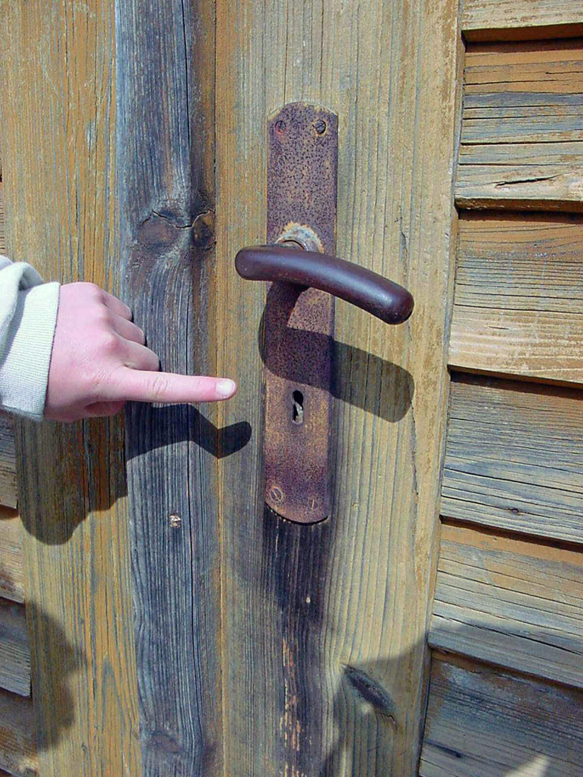 BAVARIA VINTAGE DOOR HANDLE.